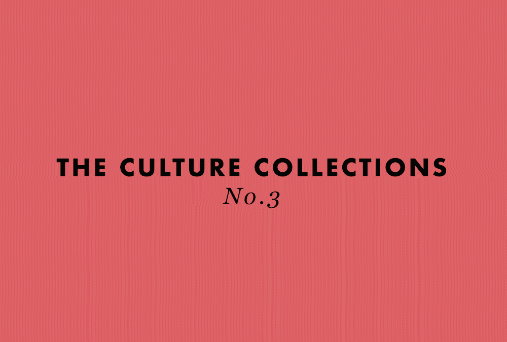 The Culture Collections No.3